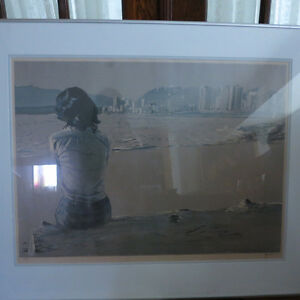 Art Picture Lithograph Raymond Chow Signed Numbered Canadian Kitchener / Waterloo Kitchener Area image 3