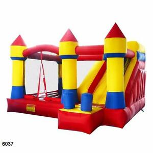 NEW COMMERCIAL GRADE BOUNCY CASTLE SLIDE BIRTHDAY PARTY WHY DO RENTAL ? EVENT