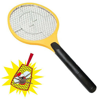 Fly Zapper Swatter Net Racket Rechargeable Electronic ...