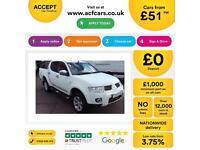 Mitsubishi L200 FROM £51 PER WEEK!