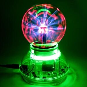 Sound Activated Plasma Ball