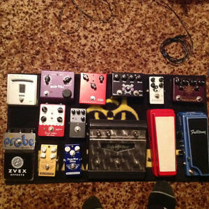 Boutique pedal lot.. incredible pedalsgw