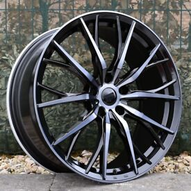 """20"""" Staggered Hub V1F wheels for BMW F30 or F31 3 Series Etc"""