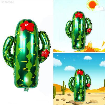 77D6 Beautiful Airballoon Balloons Food Tropic Birthday Cacti Party Decoration - Cactus Balloon