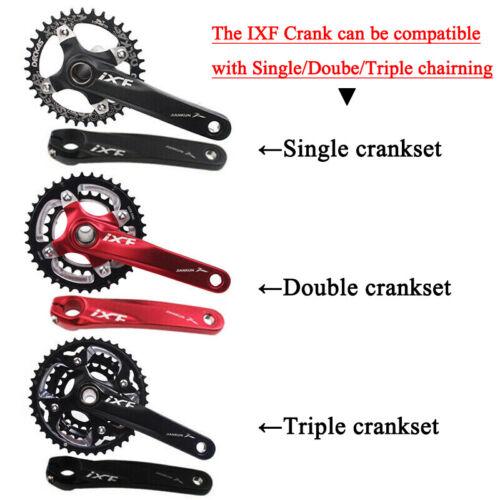 US 32-42//104bcd MTB Bike Narrow Wide Crankset Crank Pedeal Chainring Guard