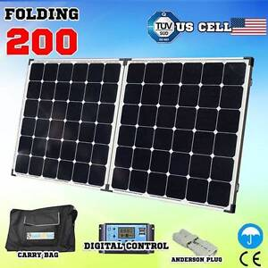 200w Folding Solar Panel Kit caravan power battery charger 12v Craigie Joondalup Area Preview