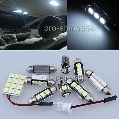 Canbus For Mini Cooper R 55 R 56 Interior Package Kit LED Light Xenon White 16X