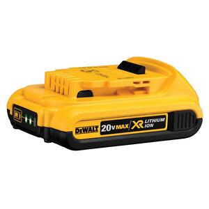NEW! DeWALT 20V 2 AH Premium XR Battery With Fuel Gauge SAVE 50%