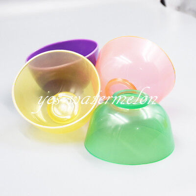 Dental Mixing Bowl Silicone Rubber For Plaster Impression Material 4 Color 85mm