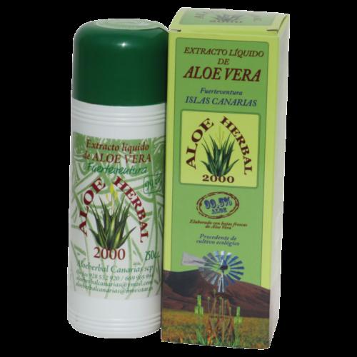 AloeHerbal 2000, Extracto de Aloe Vera, 250 ml