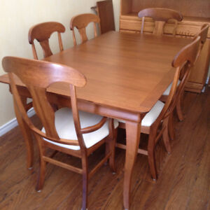 Gorgeous 6 Chair Shermag Inc Canada Dining Suite