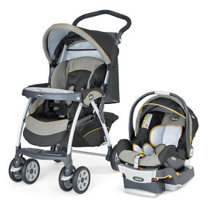 Chicco Car seat and Stroller set like new