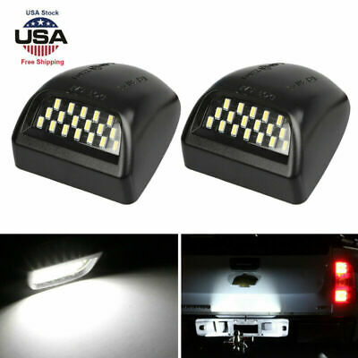 For Chevy 1999-2013 Silverado Avalanche BRIGHT SMD LED License Plate Lights Lamp