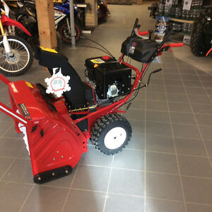 "Trot-bilt 33"" Snow blower clear out !!! Save 800.00"