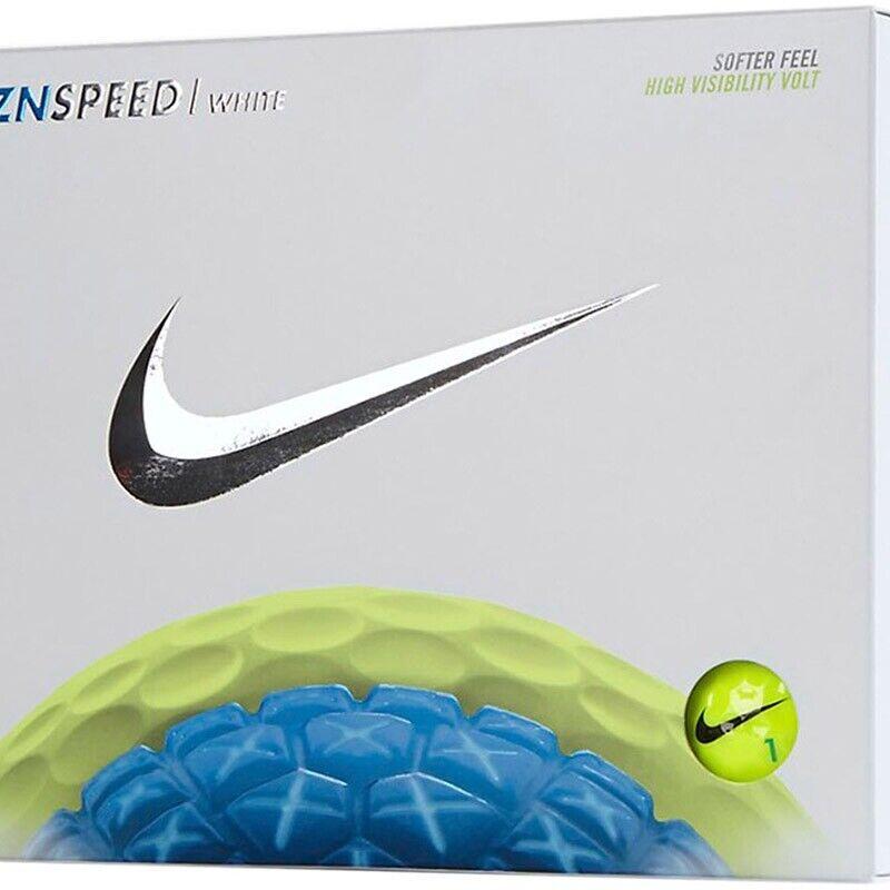 Nike RZN Speed White  Golf Balls - Rare 1 Dozen