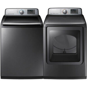 Samsung Platinum WA50M7450AP Top Load Washer Dryer