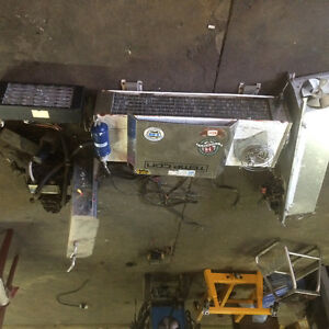 Full refrigeration unit for 1ton cube van or derivery vehicle ,