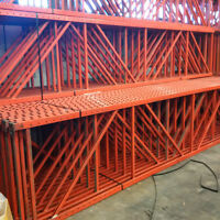 Used Master Rack Pallet Storage Racking For Sale 17' x 42""