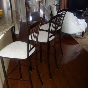 3 bar height stools