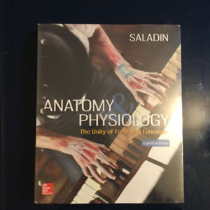 Anatomy and Physiology: The Unity of Form & Function Eighth Ed.