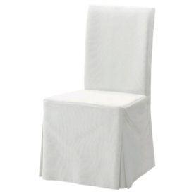 Ikea cream ivory chair covers