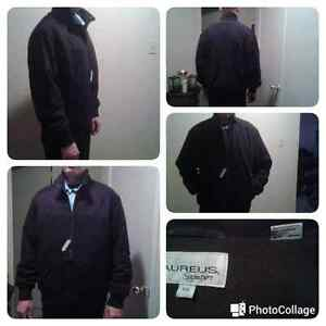 500$ value is only 250$ here  Men's Aureus nubuck leather jacket