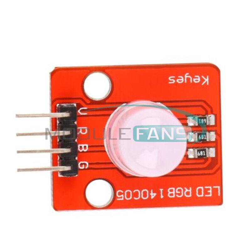 2PCS 10MM RGB LED Module Light Emitting Diode for Arduino STM32 5V M92