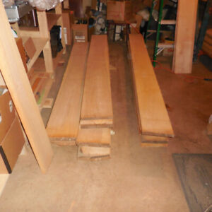 Old Growth Yellow Birch Lumber