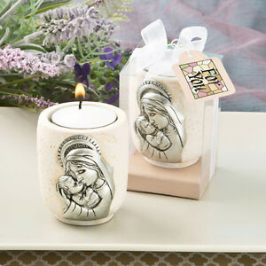 Madonna and Child Candle Tea Light Holder From Fashioncraft