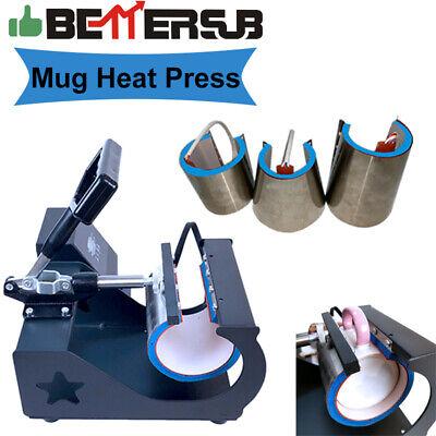 Bettersub 4in1 Mug Heat Press Sublimation Machine For Latte 10oz 11oz 12oz 17oz