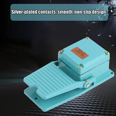 Ac250v 15a Spdt Antislip Industrial Foot Operated Pedal Switch Footswitch Tool