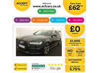 Audi A6 Saloon Black Edition FROM £103 PER WEEK!