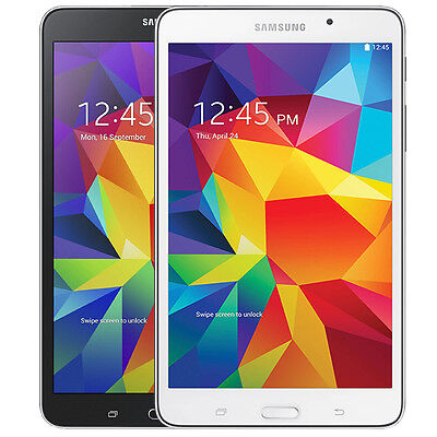 "Tablet - Samsung Galaxy Tab 4 SM-T337T 16GB Wi-Fi + 4G T-Mobile Wireless 8.0"" Tablet"