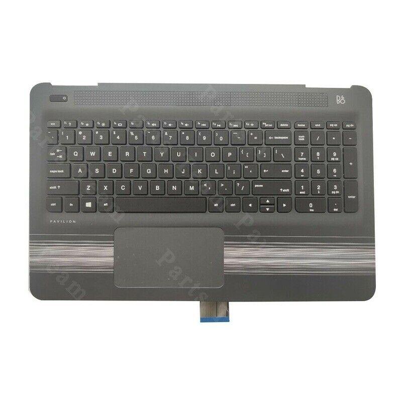 NEW For HP Pavilion 15-AW 15-AU Palmrest Keyboard & Touchpad Backlit 856028-001