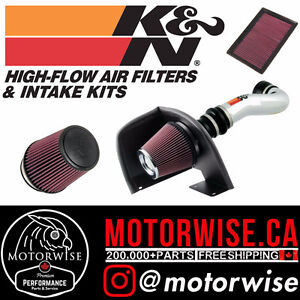 K&N Cold Air Intakes, Air Filters, & More!