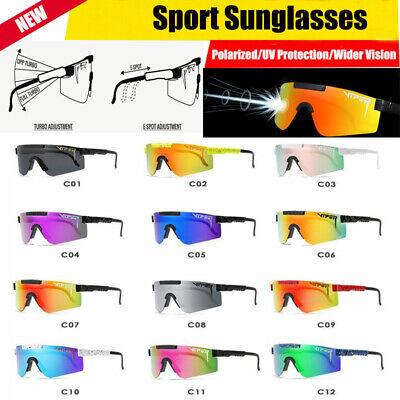 Original Pit Viper Sport TR90 Polarized Sunglasses for Men Women (Viper Sunglasses)