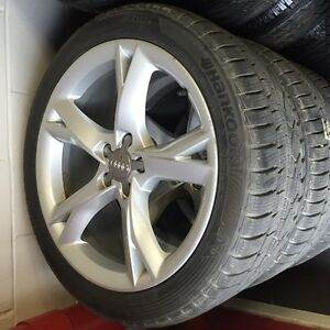 "19"" Audi wheels + Hankook WINTER tires A7 S6 A5 S5 Q3"
