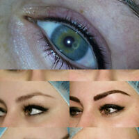 FREE Permanent Eyeliner with Microblading only $385 + tax