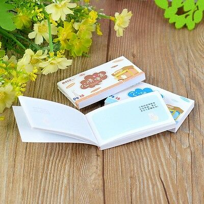 1pcs Mini Mood Sticky Notes Post It Bookmark Memo Note Pads Flag Stationery