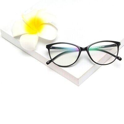 Women's Oversized Cat Eye Anti Blue light Filter Glasses Fashion Designer (Women's Fashion Glasses Frames)
