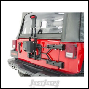 Aries Heavy-Duty Spare Tire Carrier For 2007-18 Jeep JK Models