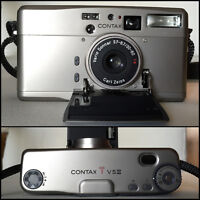 Contax TvsIII Point and Shoot 35mm Film Camera
