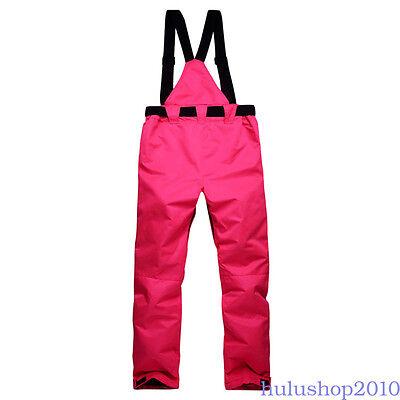 snow bibs Winter Sports Clothing Men Waterproof Insulated Winter Pant Leisure QH66 Whites torm Ski Bib Snow Pants