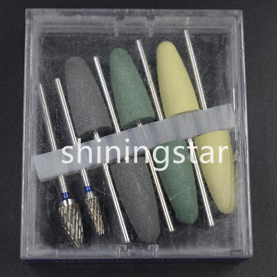 1 Box Dental Silicone Resin Base Acrylic Polishing Bur Dental Lab Diamond Polish