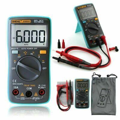 1x Polimetro Tester Multimetro Digital Voltimetro Amperimetro OHM Voltios AN8000