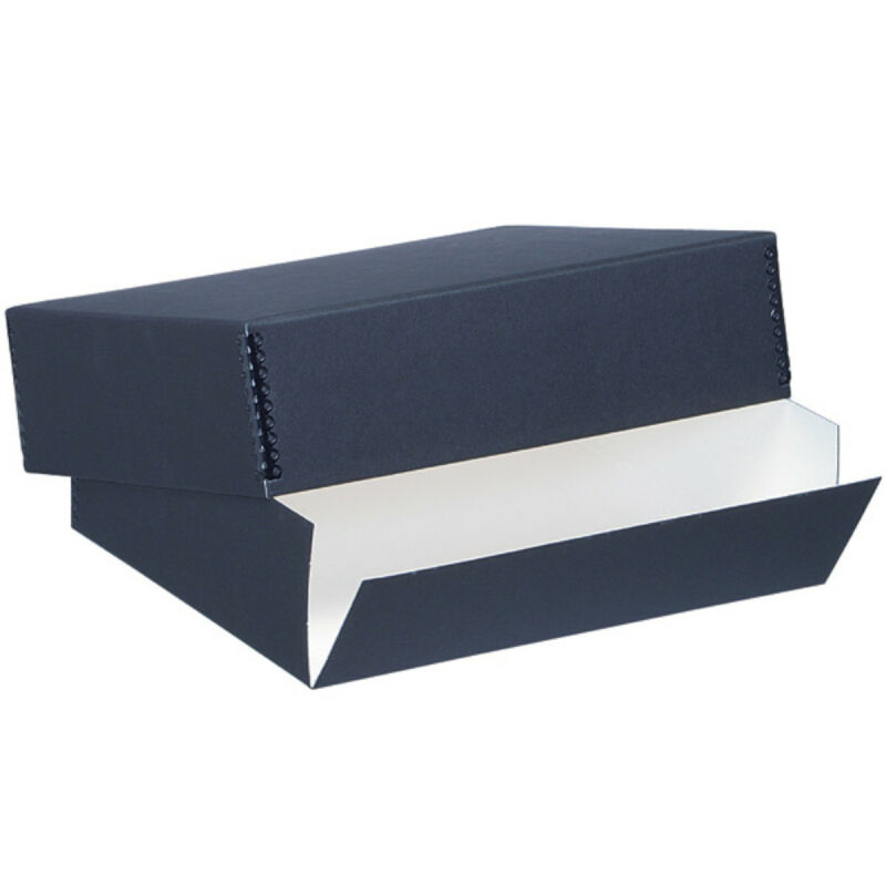 Lineco Museum Storage Box Blk 13.5X19.5X3 In
