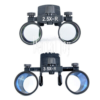 Clip Type 3.5x2.5x Dental Binocular Loupes Glasses Optical Surgical Magnifier