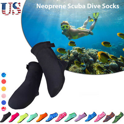 3mm Neoprene Water Sports Scuba Swim Surf Diving Aqua Fin Socks Snorkel Boots US