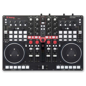 Vestax VCI-400 Professional MIDI and Audio DJ Controller with Bu