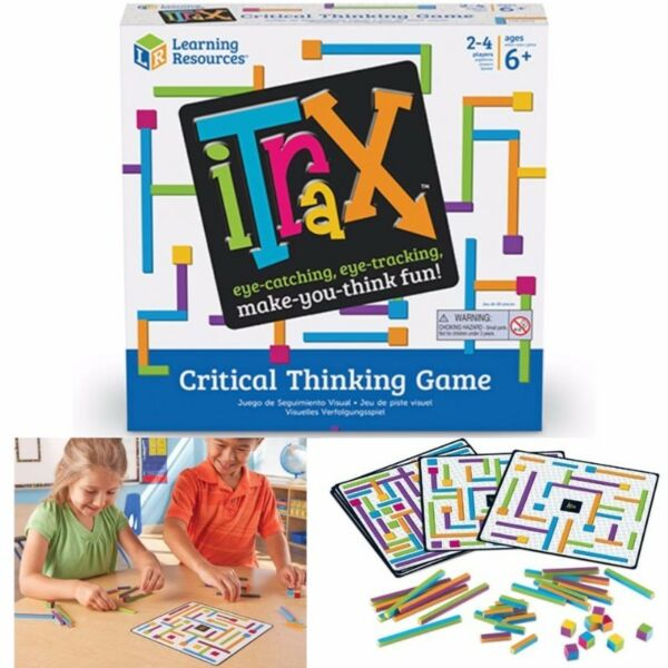 BNIB: Learning Resources iTrax Critical Thinking Game, 44 Pieces